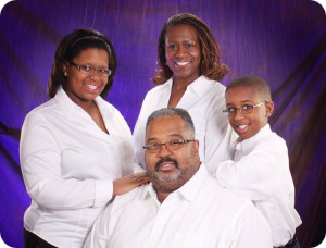 Rev. Tarrance C. Floyd and his Family